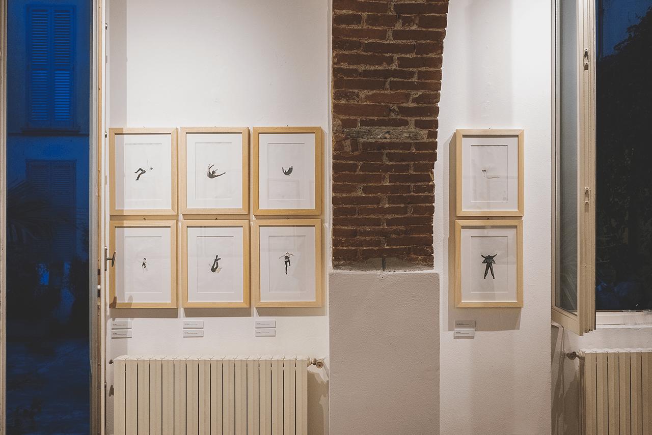 acquerelli di franco raggi e lucia lamacchia nella galleria zanuso